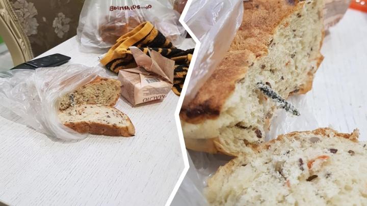 Железо на ужин: ярославцу продали фитнес-хлеб с саморезом