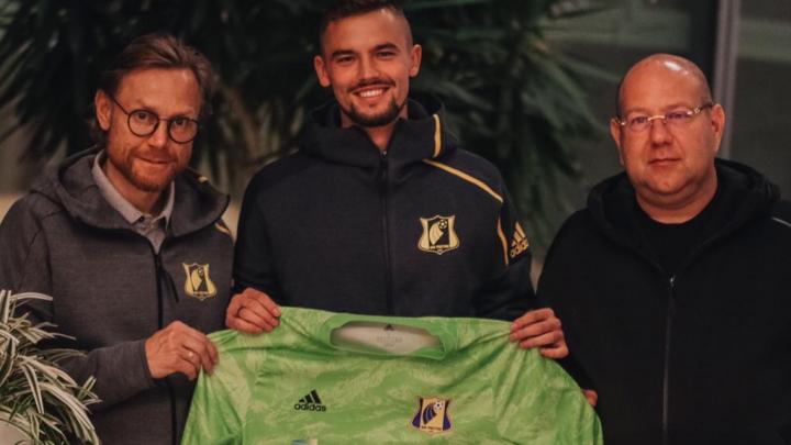 В «Ростове» появился новый вратарь. Он перешел из «Зенита»