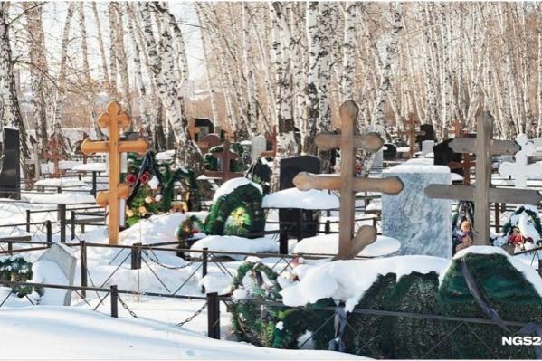 Рассматривается вопрос о расположении кладбища под Шуваево или Берёзовкой