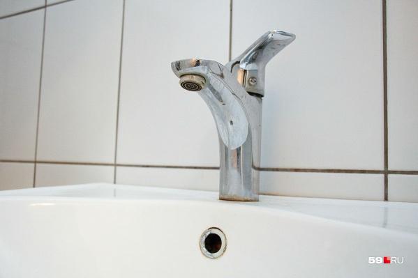 Без водоснабжения останется 41 дом Перми