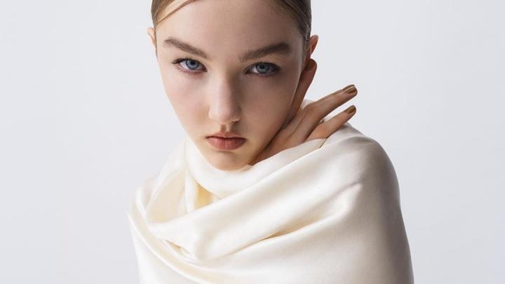 18-летняя модель из Тюмени стала лицом японского косметического бренда