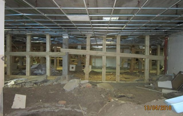 Как выглядит аварийное здание Китайского торгового дома у БКЗ изнутри: обзор в 4 фото