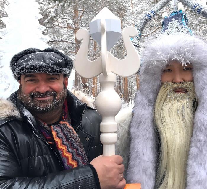 Как Чысхаан Йоллопуки победил: Владимир Бурковский судил конкурс якутской строганины