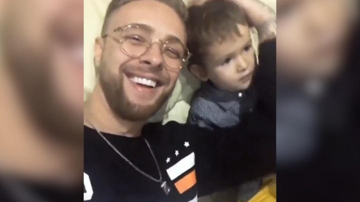 Егор Крид выложил трогательное видео с маленьким племянником из Уфы