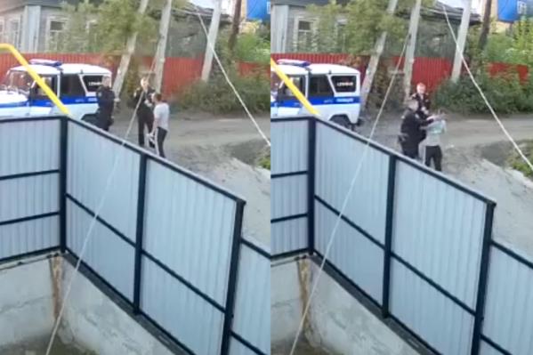 Инцидент произошёл в пятницу, 30 августа