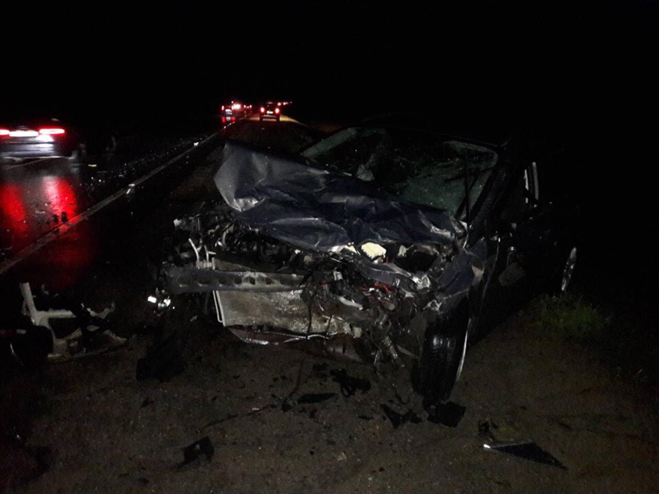 Авария произошла на трассе в Ярославском районе
