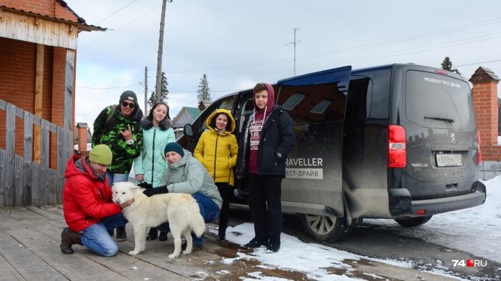 Шестеро в минивэне, не считая собаки:тестируем Peugeot Traveller