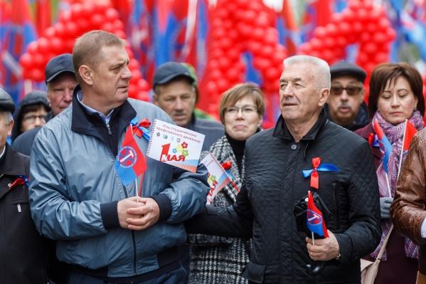 Николай Семисотов был председателем Волгоградской областной думы