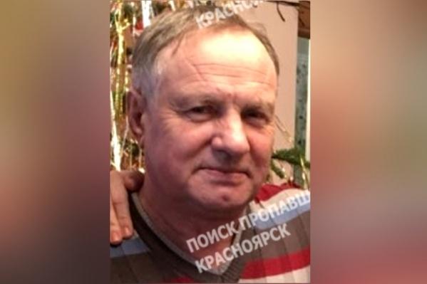 65-летний Виктор Виноградов пропал в посёлке Подгорный