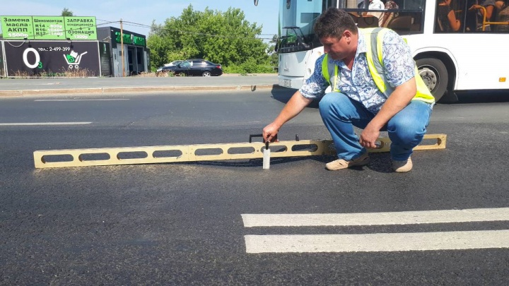На Московском шоссе образовалась новая колея