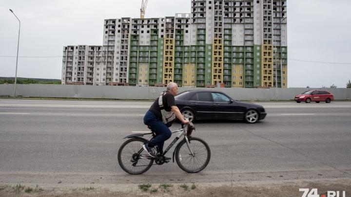 На границе челябинского городского бора построят две дороги для жителей «Академ Riverside»