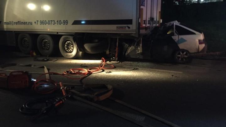 Полицейский, погибший в ночном ДТП в Уфе, ехал на машине своей бабушки