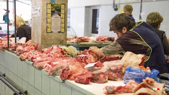 На ярославском рынке нашли множество нарушений при продаже мяса
