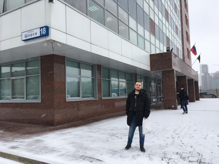 В эти минуты он находится на допросе у следователя в здании областного СКР
