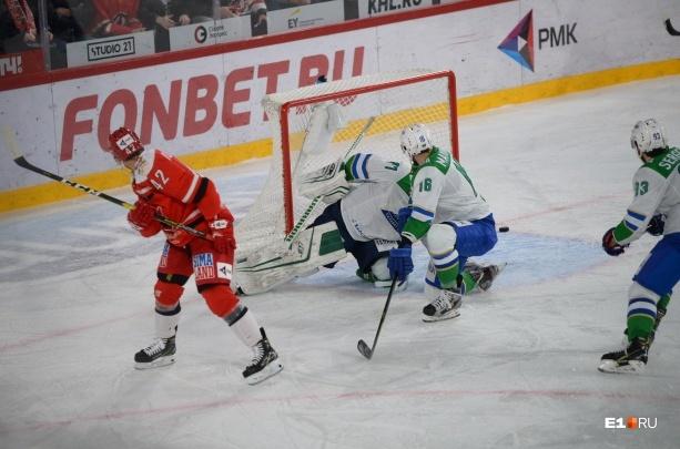 «Автомобилист» сравнял счёт в серии с «Салаватом Юлаевым»