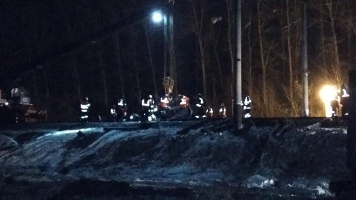 Движение прекратилось на 6 часов: в Прикамье с рельсов сошли семь грузовых вагонов