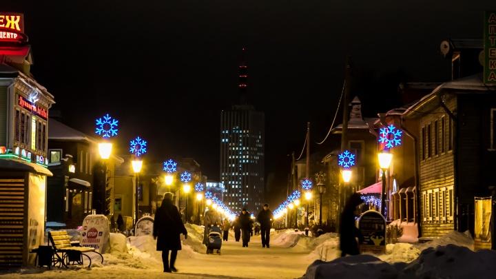 Жар-птицы, кокошники и звёздный вальс: как подсветят Архангельск к Новому году