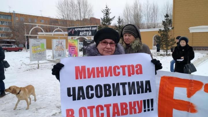 Сотня горожан вышла протестовать против мусорной реформы
