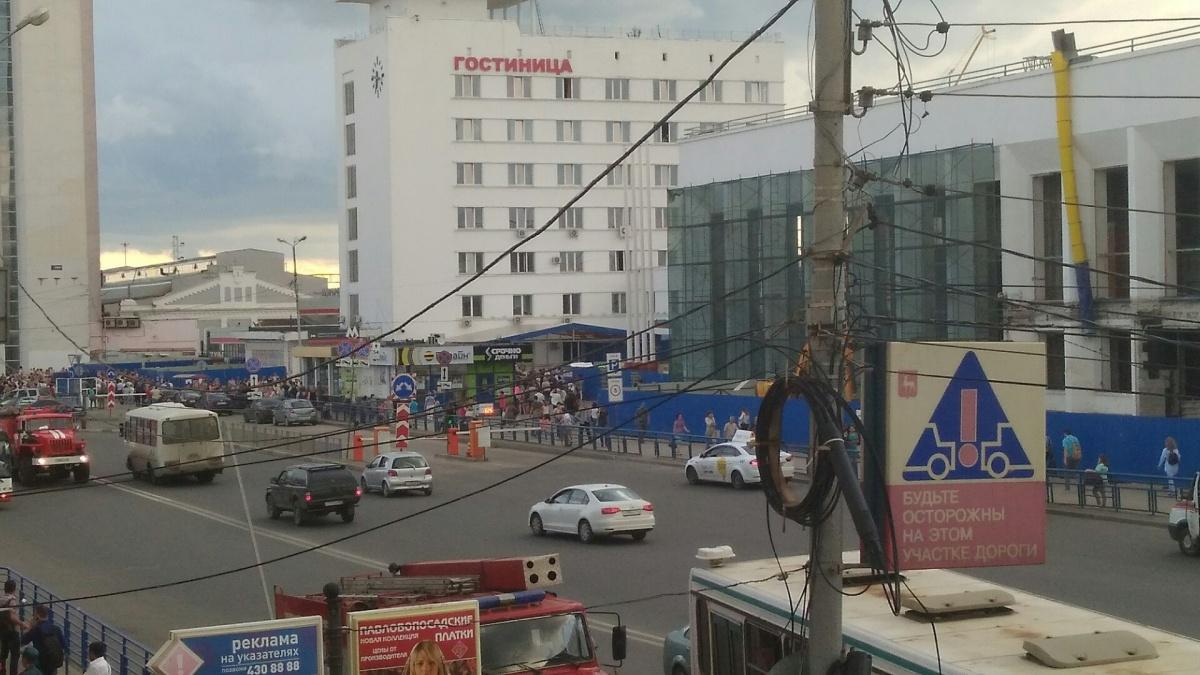 Взрывное устройство искали нажелезнодорожном вокзале Нижнего Новгорода