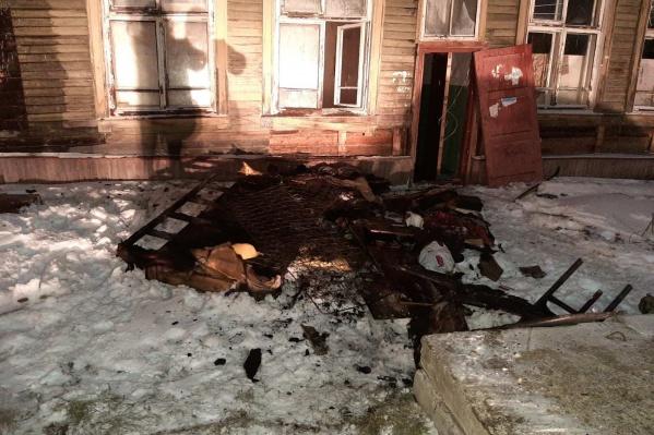 Четыре дома в Северодвинске загорелись с небольшими интервалами