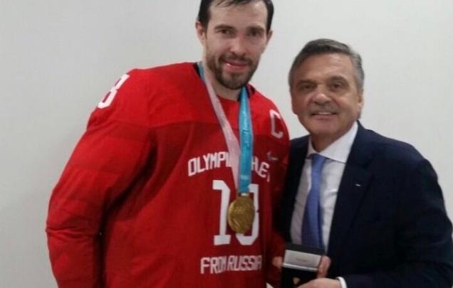 После триумфа на Олимпиаде Павел Дацюк вошёл в престижный «Тройной золотой клуб»
