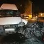 В Уфе попал в аварию пассажирский автобус