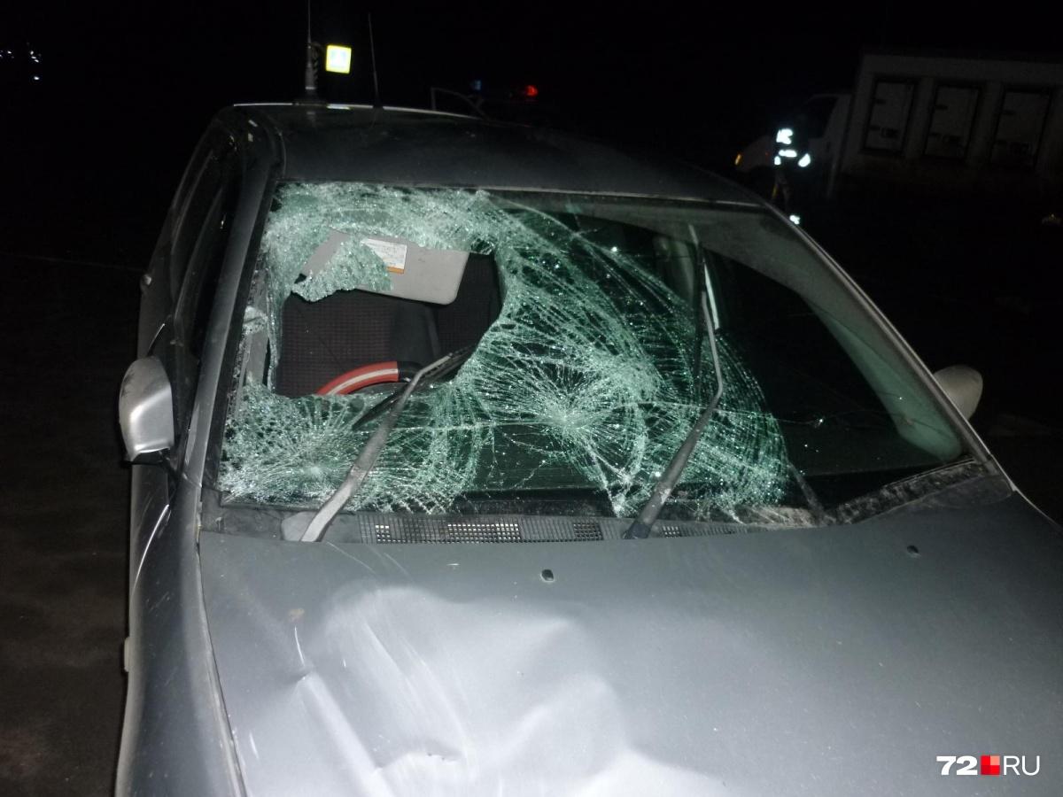Наезд на пешехода случился на 142-м километре автодороги