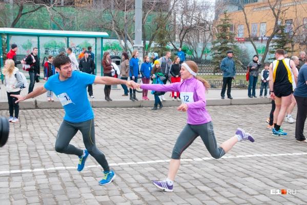 Спортсмены побегут по центральным улицам