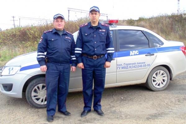 Капитан Ильгиз Закрулин и майор Владимир Прибылев на службе