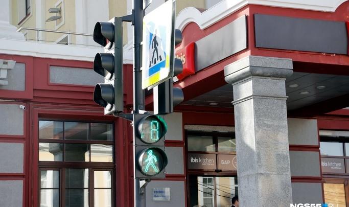 Предприниматели за свои деньги установят светофоры в омских Нефтяниках