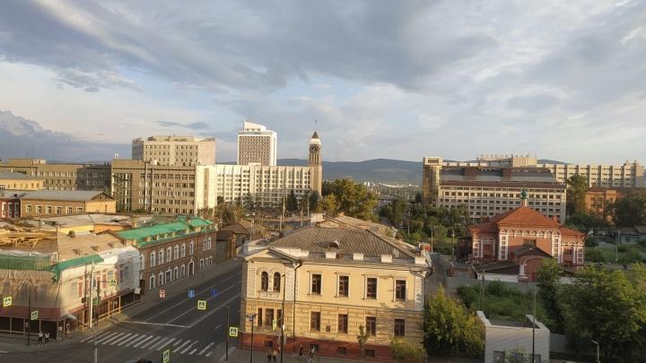 Воздух над Красноярском очистился