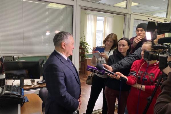 Начальник отдела гражданской защиты администрации Северодвинска Валентин Магомедов