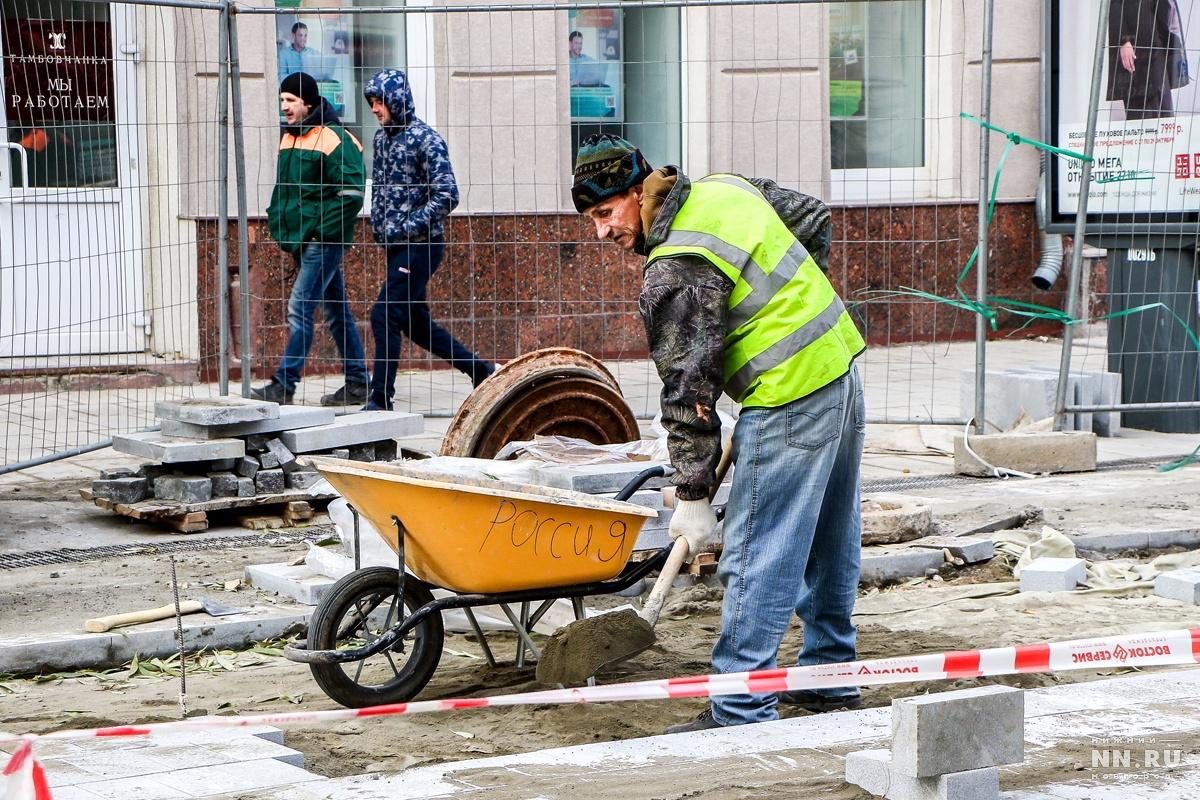 Неменее 80 млн руб. перечислены подрядчику заработы наБольшой Покровской