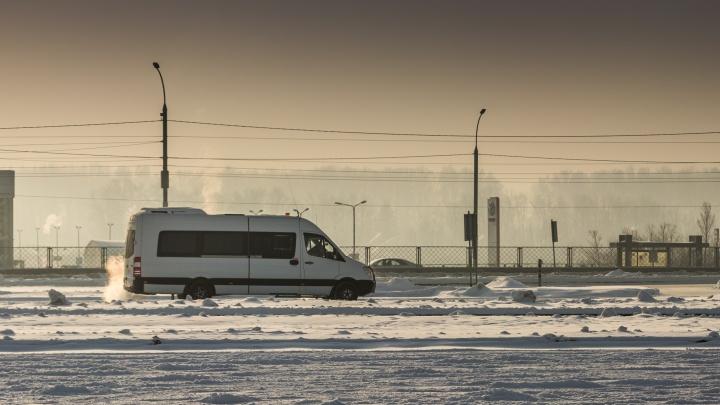 Новосибирские водители гадко поздравили коллег с 8 Марта