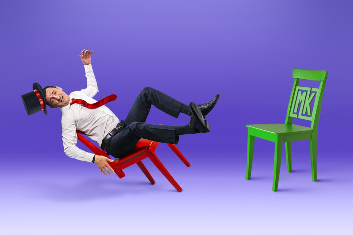 Евгений в образе — результат рекламной съемки «Магазина квартир»