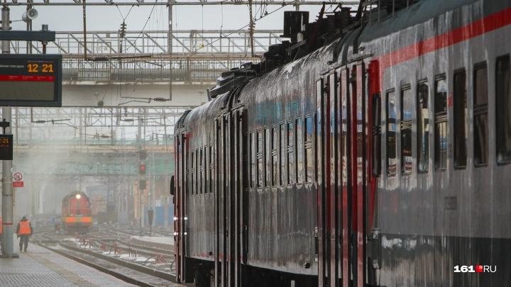 На новогодних каникулах в Ростове отменят 16 электричек и пригородных поездов