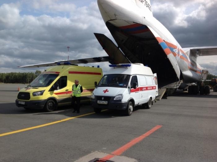 6 пациентов с тяжелыми ожогами доставлены в Нижний Новгород
