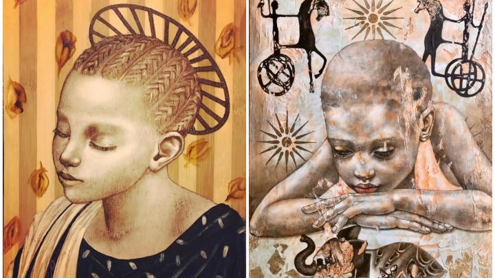 В Екатеринбурге откроют выставку с работами парижанки, где есть отсылки к творчеству да Винчи