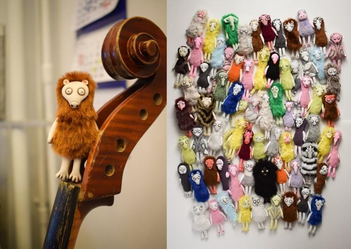Маленькая кукла с непечатным именем очень популярна у жителей разных городов России, говорит автор