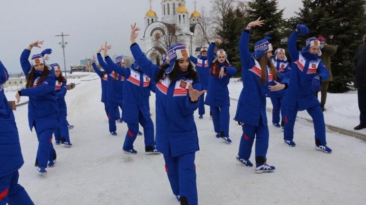 Самарские фигуристы отправились на всемирную универсиаду в Красноярск