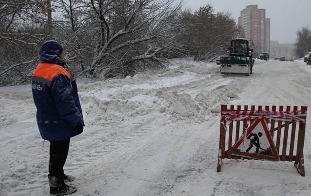 График уборки снега в уфимских дворах на 13 марта