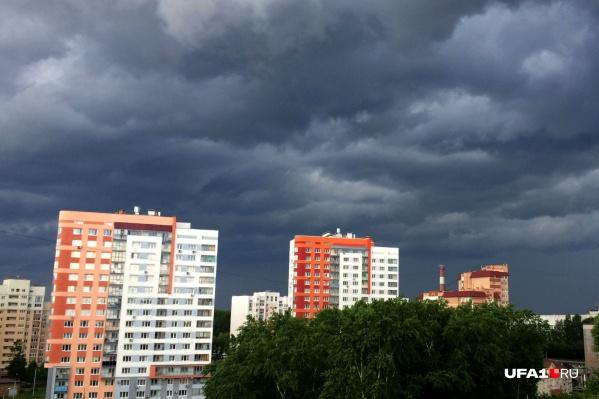 В Башкирию снова придут дожди и холод