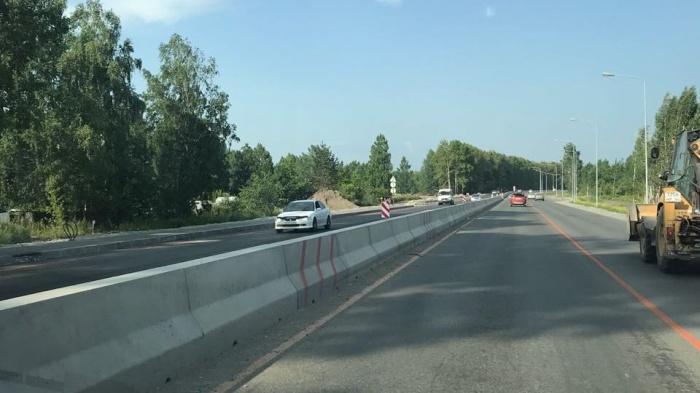 Водителей просят быть внимательней на новой дороге — смотреть на знаки и разметку, которые сейчас временные