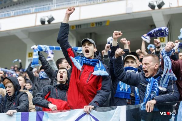 Волгоград остаётся самым футбольным городом в ФНЛ