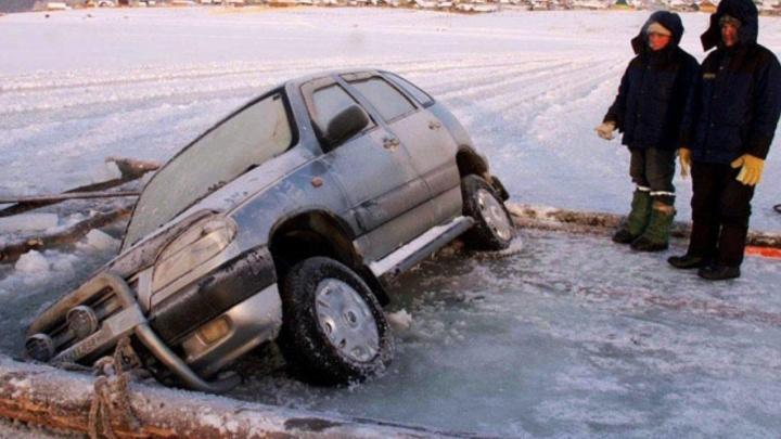 Выезд машин на лед запрещен: зауральцев просят заранее найти место для стоянки в Крещение