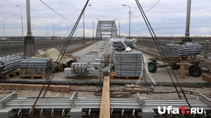 Уфимский Бельский мост откроют 30 июля