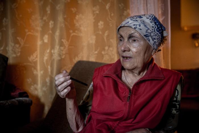 Астафьева Галина Терентьевна, которую выселяют из комнаты в общежитии