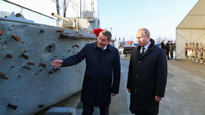 Фонд президента РФ отказался финансировать реставрацию и памятник сталинградского бронекатера БК-31