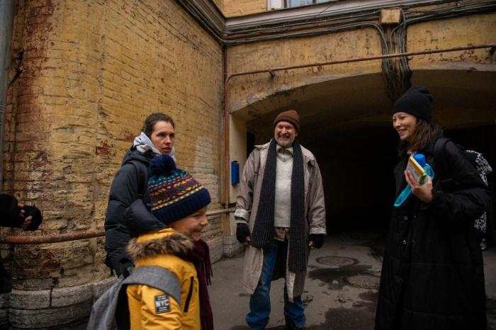 Новогоднюю сказку снимали этой осенью в Санкт-Петербурге