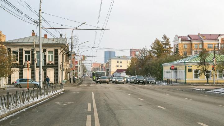Ночью на выходных перекроют для проезда улицу Ленина